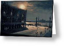Memories Of Venice No 2 Greeting Card
