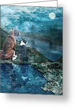 Memory Bay Greeting Card by Judy Wood