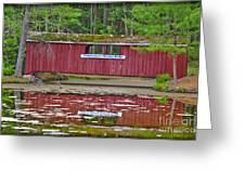 Memorytown Kissing Bridge Greeting Card