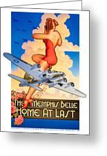 Memphis Belle Poster Greeting Card