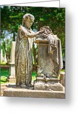 Memphis Elmwood Cemetery Monument - Cassie Hill Greeting Card