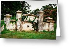 Memphis Elmwood Cemetery - Ayres Family Vault Greeting Card