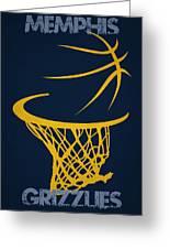 Memphis Grizzlies Hoop Greeting Card