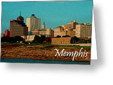 Memphis  Greeting Card