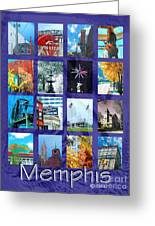 Memphis Greeting Card
