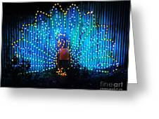 Memphis Zoo Lights Greeting Card