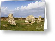 Men-an-tol Cornwall Greeting Card by Colin and Linda McKie