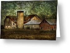 Mennonite Farm In Tennessee Usa Greeting Card