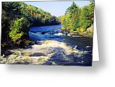 Menominee River At Piers Gorge, Upper Greeting Card