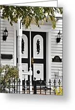 Menomonee Street Old Town Chicago Greeting Card