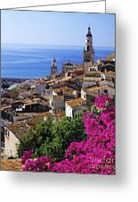 Menton  Greeting Card