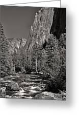 Merced River Yosemite Greeting Card