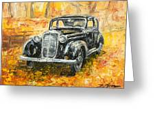 Mercedes 170 S Greeting Card
