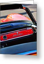 Mercedes 300 Sl Dashboard Emblem Greeting Card