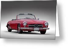 Mercedes-benz 190 Sl Greeting Card