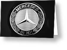 Mercedes-benz 6.3 Gullwing Emblem Greeting Card
