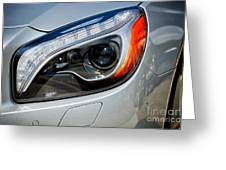 Mercedes Benz Light Greeting Card