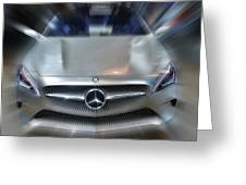 Mercedes Concept 2013 Greeting Card