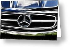 Mercedes Greeting Card