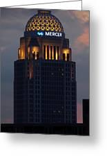 Mercer Building Greeting Card