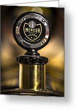 Mercer Hood Ornament  Greeting Card