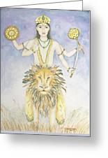 Budha Mercury Greeting Card