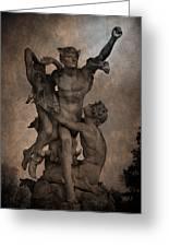 Mercury Carrying Eurydice To The Underworld Greeting Card