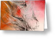 Mercury In Aries - Cardinal Fire Greeting Card by Menega Sabidussi