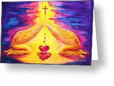 Mercy Greeting Card by Nancy Cupp