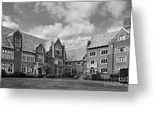 Mercyhurst University Old Main Greeting Card by University Icons