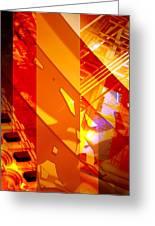 Merged - Arched Orange Greeting Card