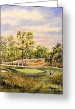 Merion Golf Club Greeting Card by Bill Holkham