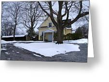 Merion Meeting House - Narberth Pa Greeting Card by Bill Cannon