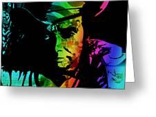 Merle Haggard Greeting Card
