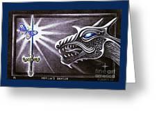 Merlin's Dragon Greeting Card