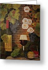 Merlot For The Love Of Wine Greeting Card