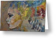 Mermaid Greeting Card by Michael Creese