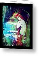 Mermaid Of The Tides Greeting Card