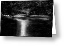 Merrill Walk Bridge Greeting Card