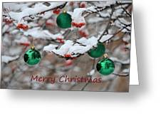 Merry Christmas 3 Greeting Card