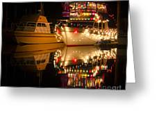 Merry Christmas Bandon By The Sea 1 Greeting Card