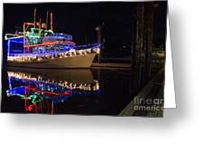 Merry Christmas Bandon By The Sea 2 Greeting Card