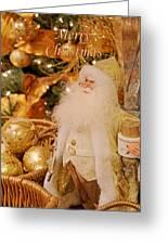 Merry Christmas Santa Greeting Card