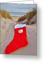 Merry Christmas Stocking 2 12/23 Greeting Card
