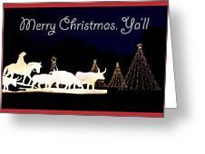 Merry Christmas Ya'll Greeting Card