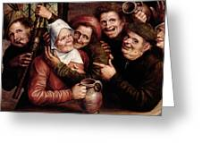 Merry Company Greeting Card