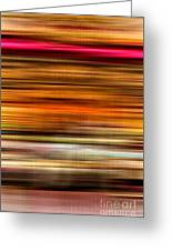 Merry Go Round Abstract Greeting Card