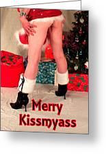 Merry Kissmyass Greeting Card