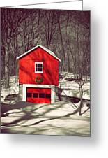 Merry Red Greeting Card