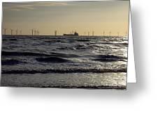 Mersey Tanker Greeting Card